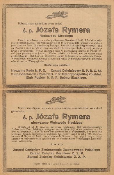 Klepsydra Józefa Rymera