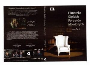 Okładka płyty Filmoteki Śląskich Portretów Mówionych - Leon Pytel