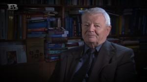 prof. Franciszek Kokot - kadr z nagrania